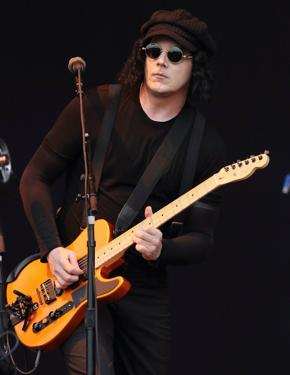 Jack White of The Raconteurs. The band has released its first album in a decade. TNS
