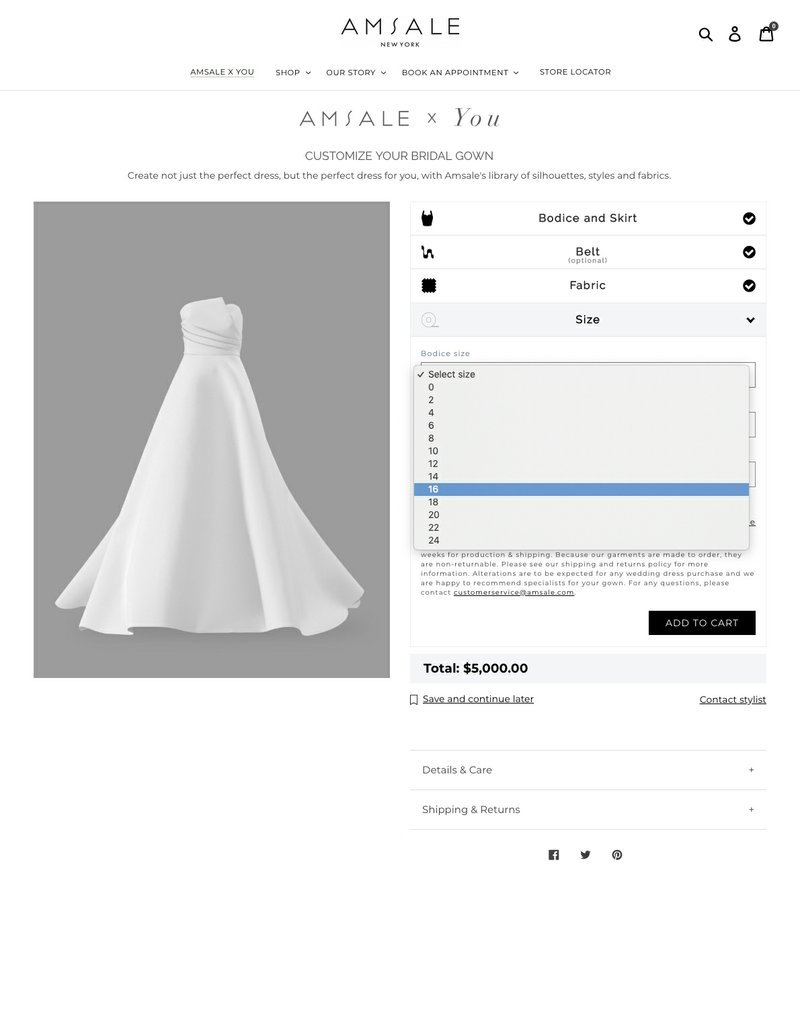 Customized Wedding Gowns Available With A Few Clicks
