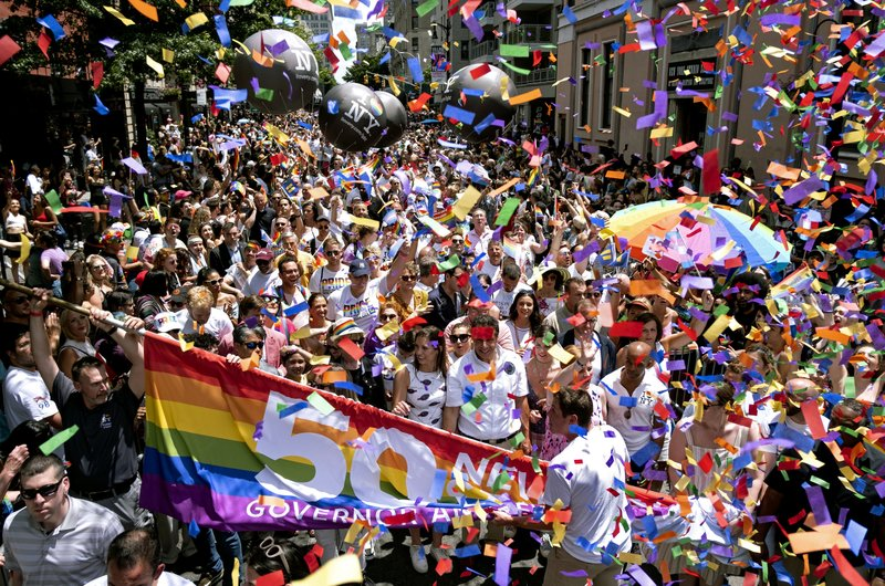 Pride parades mark 50 years of gay rights