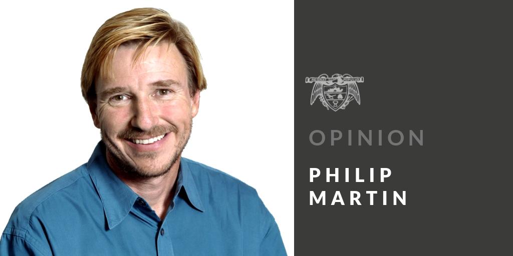PHILIP MARTIN: Lost and found