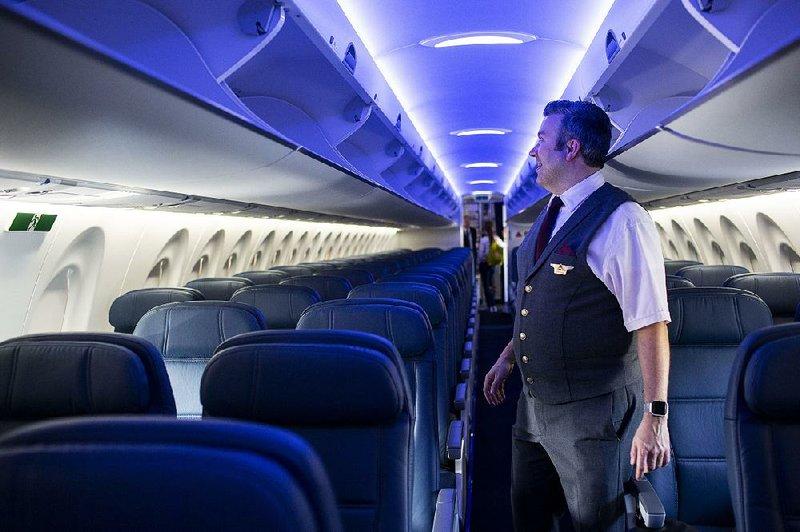 Magnificent Deltas New Workhorse Jet Has Bathroom Window Wider Seats Machost Co Dining Chair Design Ideas Machostcouk