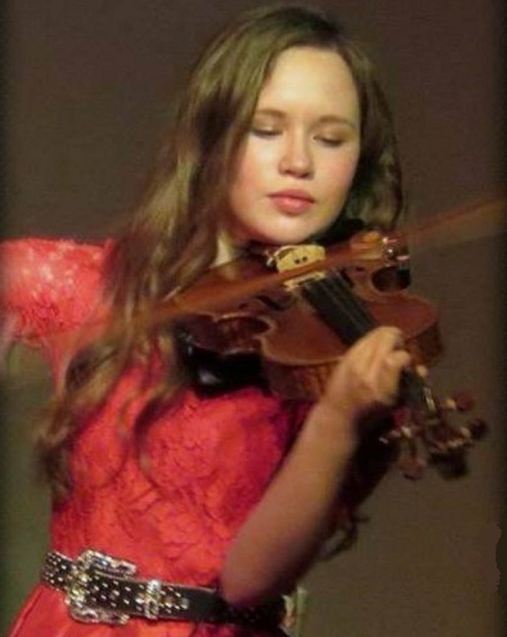 Fiddler/singer Tori Vourganas is among the featured performers for the Boomtown Opry Saturday in El Dorado.