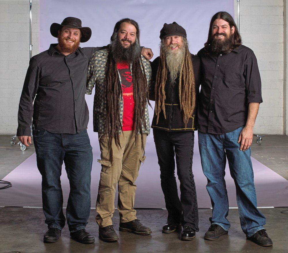 The Schwag -- (from left) Sean Allen Canan, Dan Moulder, Jimmy Tebeau and Dave Clark -- performs at 9 p.m. Friday at the Rev Room.