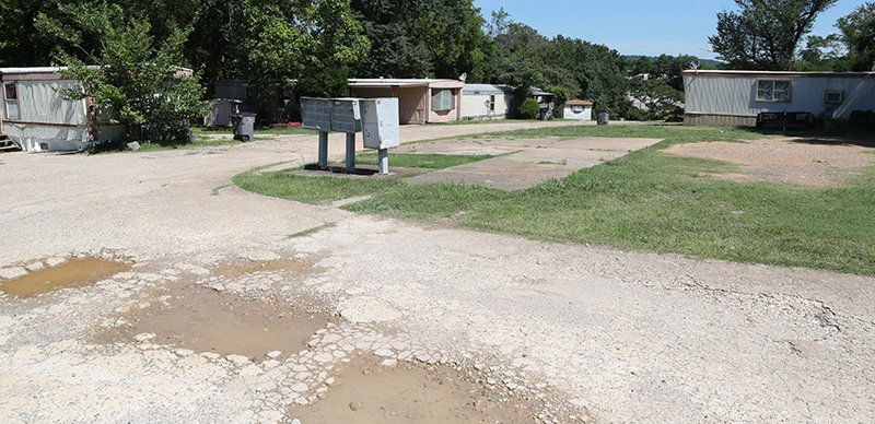 The Sentinel-Record/Richard Rasmussen NOTICE GIVEN: Butler Mobile Home Park, 263 Golf Links Road, will be converted into an upscale RV Park. Residents have been given until the end of August to vacate.