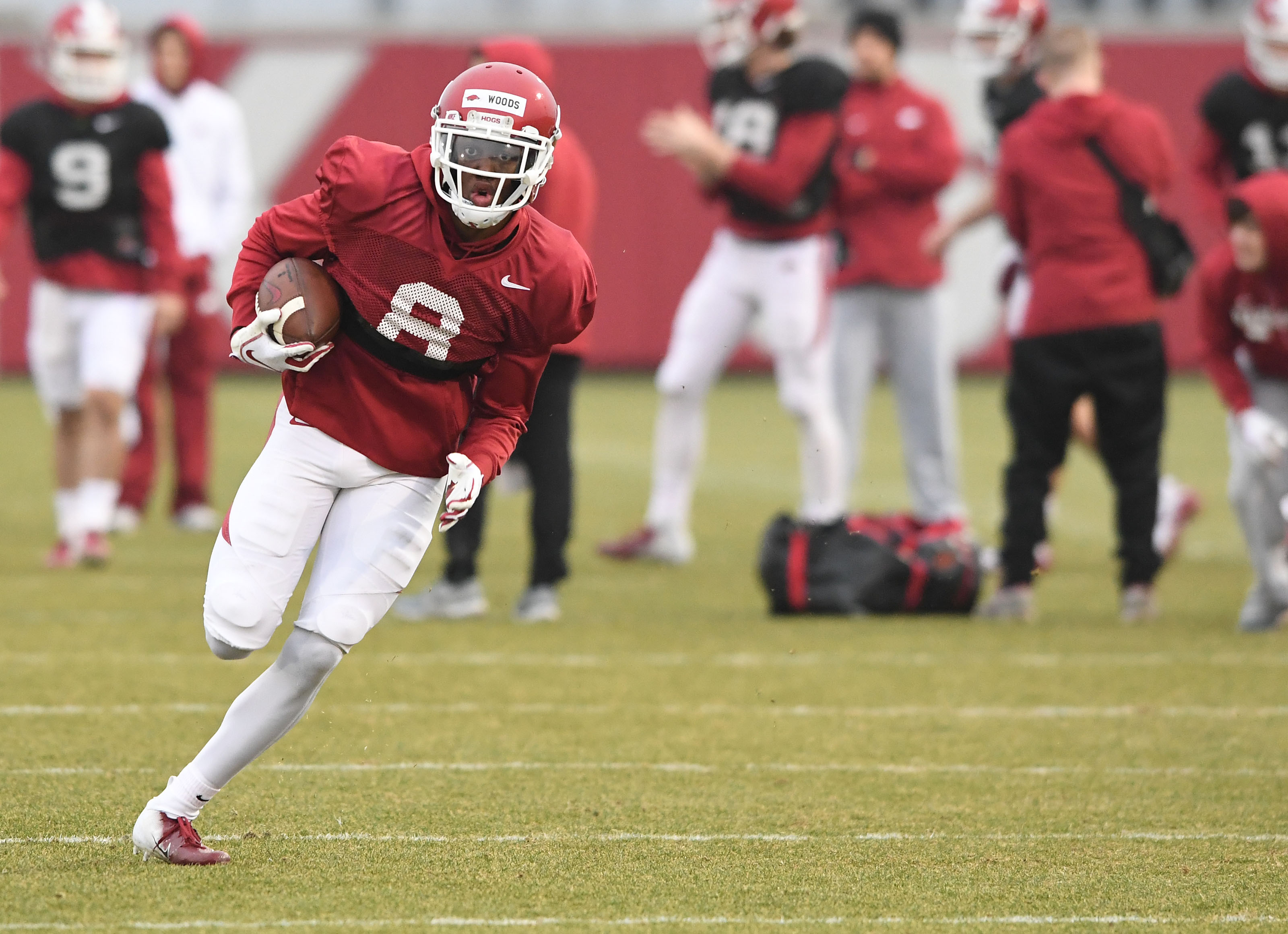 Receiver confident Hogs will be better
