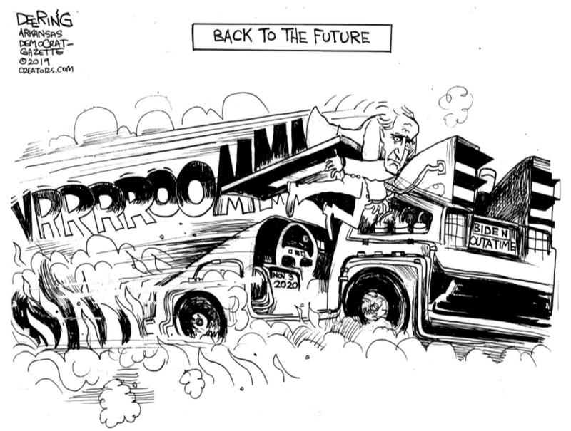 JOHN DEERING CARTOON: Back to the Future