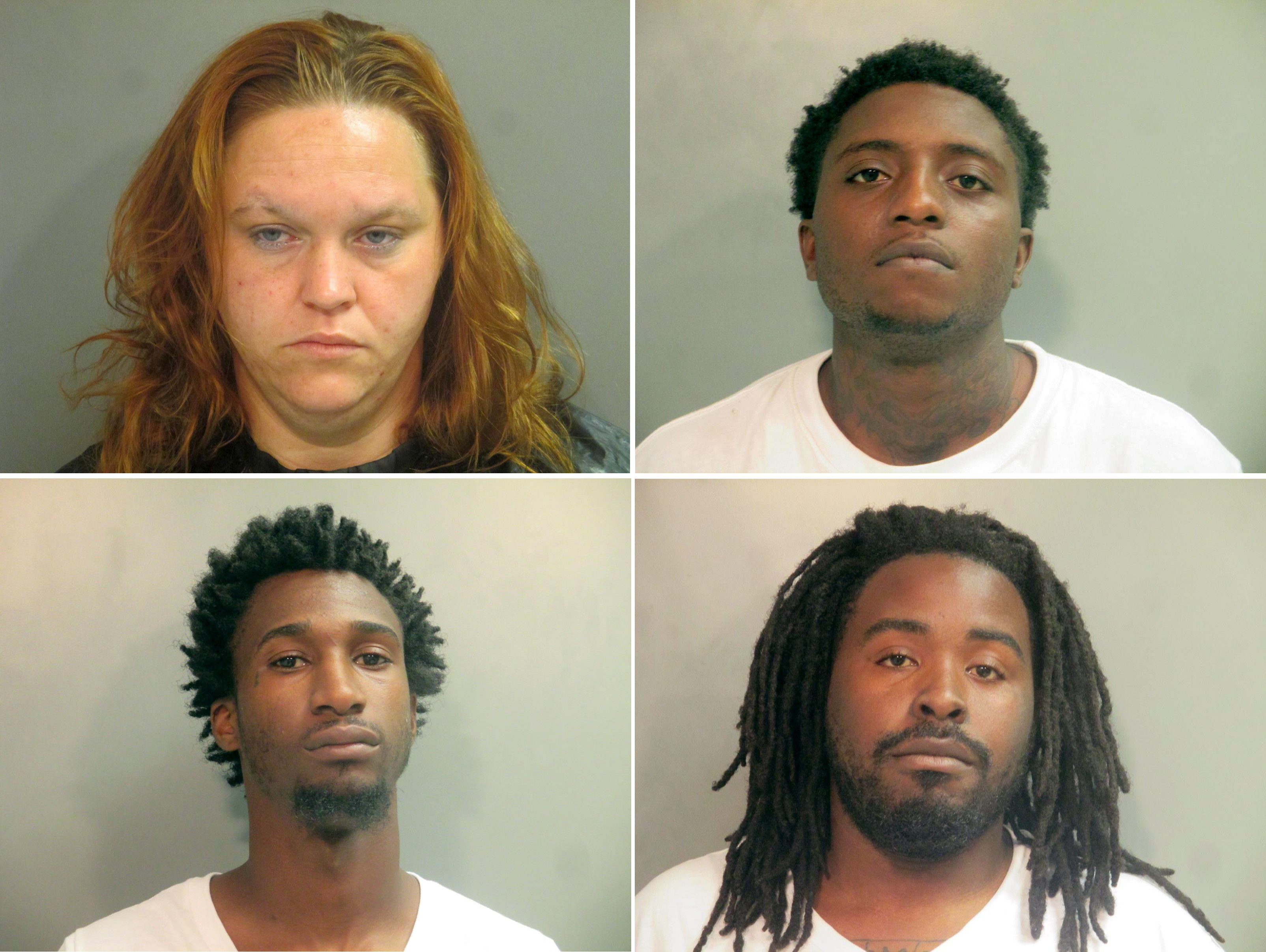 Four arrested after break-ins, credit card theft