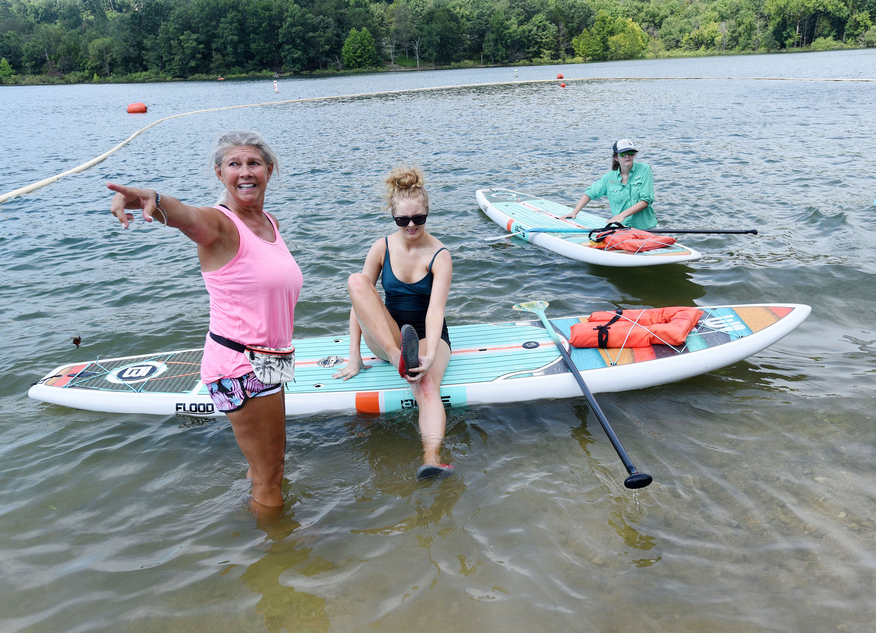 Gallery: Paddle boards and fire training