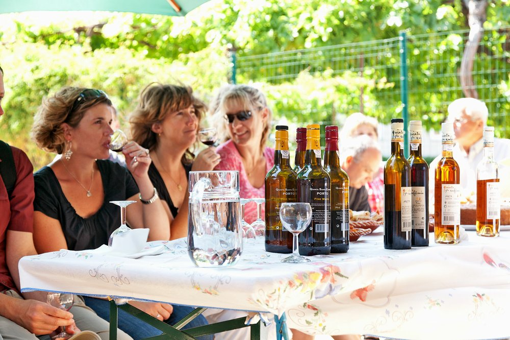 At quintas throughout the valley, visitors can taste the variety of ports and table wines produced in the Douro. (Photo by Dominic Arizona Bonuccelli via Rick Steves' Europe)
