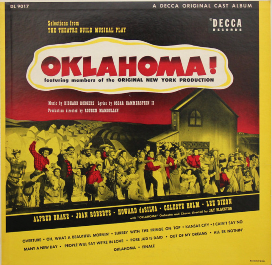 Getting a full 'Oklahoma!' Broadway cast album has taken years