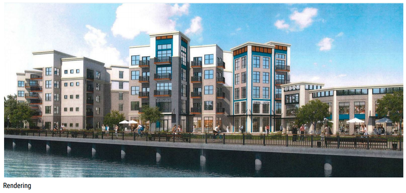 First Look 36m Apartment Complex On River Planned Near