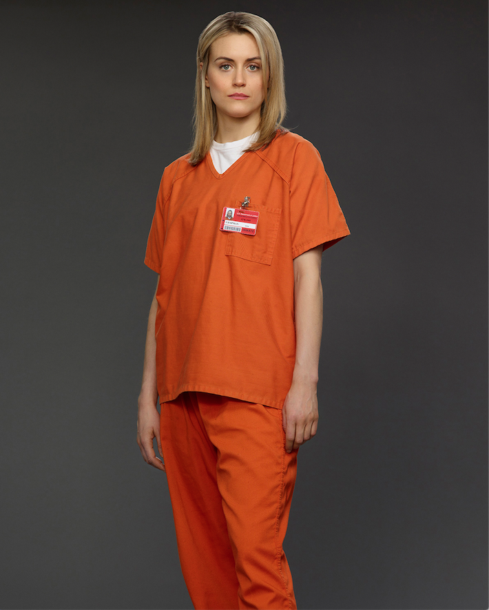 "Taylor Schilling stars as Piper Chapman in ""Orange is the New Black"" on Netflix. (Courtesy Netflix)"