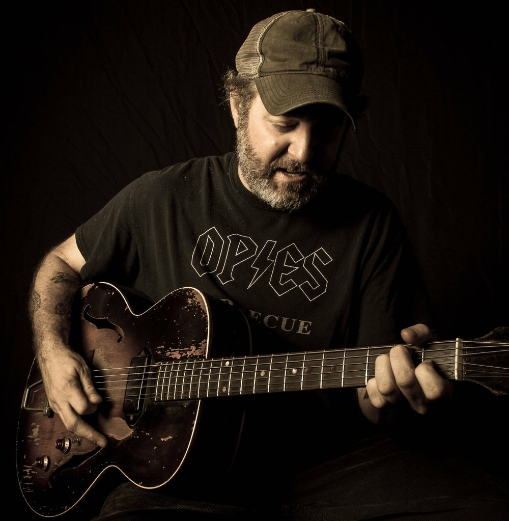 Scott H. Biram performs Wednesday at White Water Tavern. Special to the Democrat-Gazette