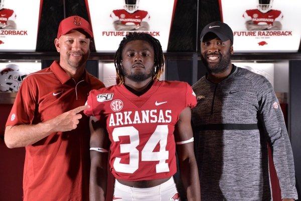 2021 RB LJ Johnson is wanting to visit Arkansas again.