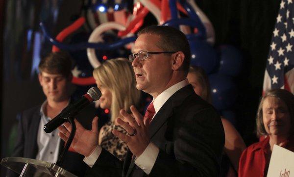Arkansas secretary of state: Got 15% off vote gear