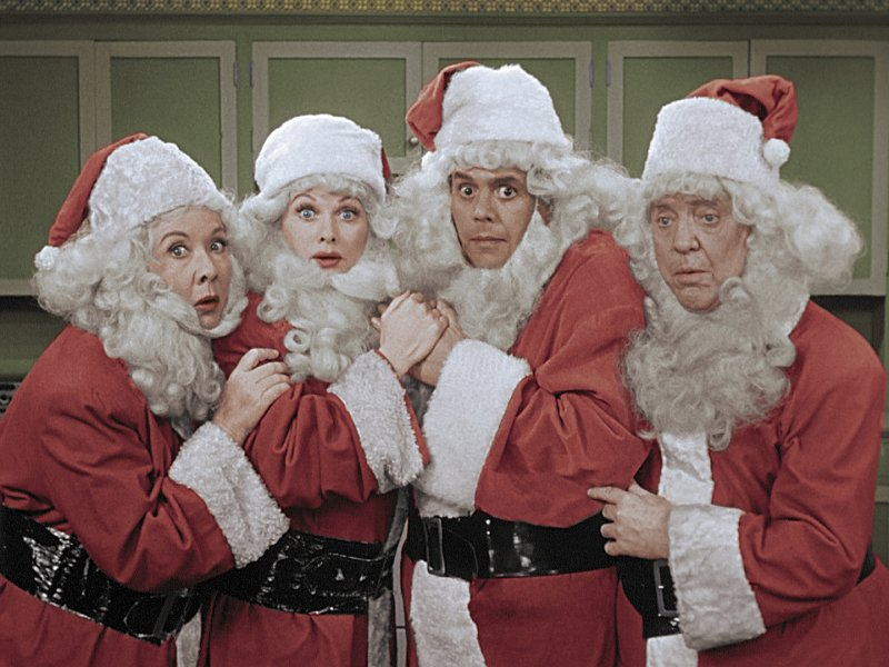 I Love Lucy in color, from a 2017 Christmas special: Five newly colorized episodes appear Tuesday on movie-theater screens in Little Rock, Benton, Conway, Fayetteville and Fort Smith.