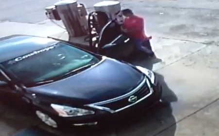VIDEO: Arkansas woman hospitalized after man took car, dragged her