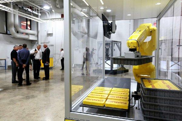 Tyson opens new robotics center