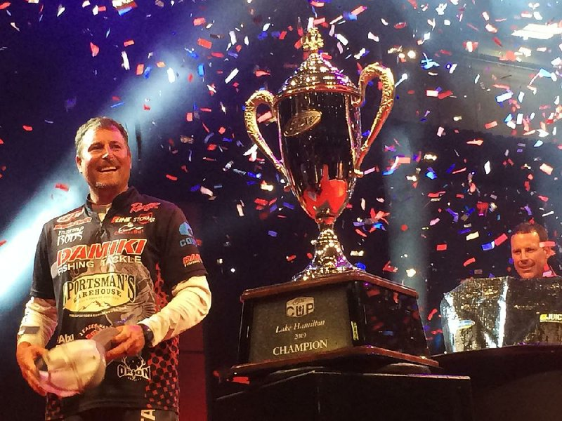 Thrift's versatility earns FLW victory