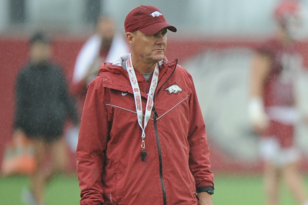 Arkansas fans can expect at least three more wins this season