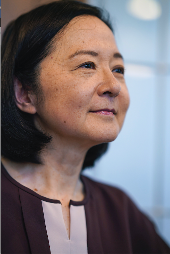 Novelist Yoko Ogawa (The New York Times/CHANG W. LEE)