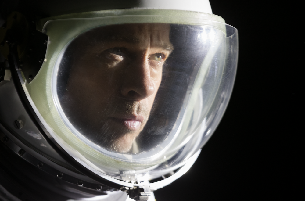 """Brad Pitt goes into outer space to seek his father in """"Ad Astra."""" (20th Century Fox)"""