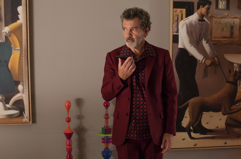 """Antonio Banderas stars in """"Pain and Glory,"""" the new film directed by Pedro Almodovar. (Sony Pictures Classics)"""
