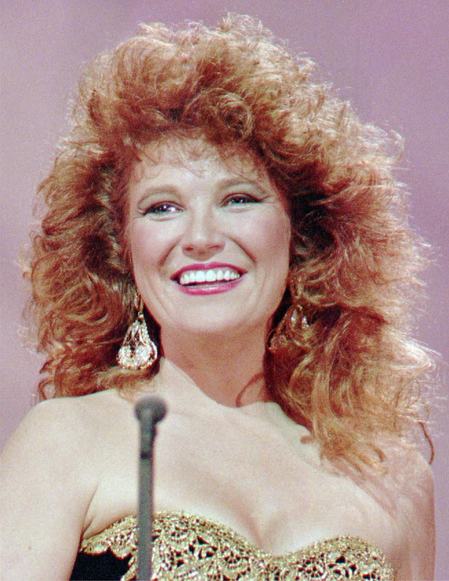 Tanya Tucker, in a 1989 photo. (AP)