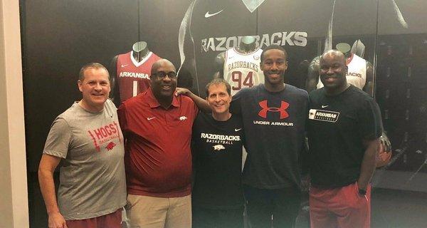 Arkansas makes cut for 5-star Bryce Thompson