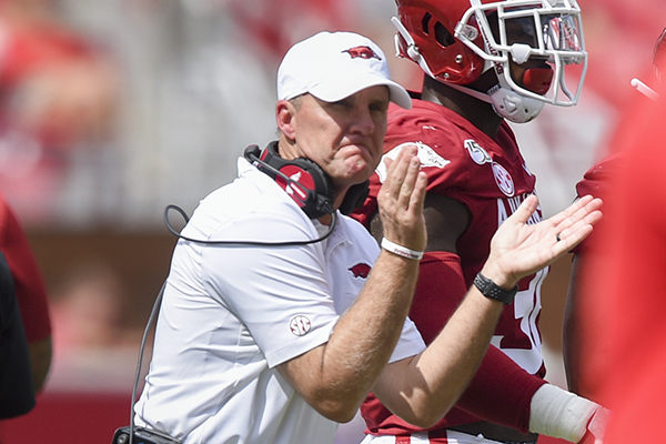 Underdogs with bite: Gimme games have been anything but for Razorbacks in recent years