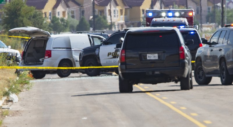 Texas police report 5 people killed in rampage, suspect dead