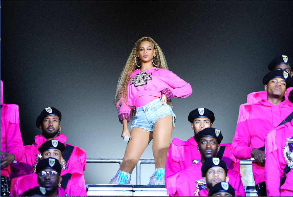 "Beyonce appears in her documentary ""Homecoming: A Film by Beyonce,"" which is nominated for several Emmy Awards. (AP)"