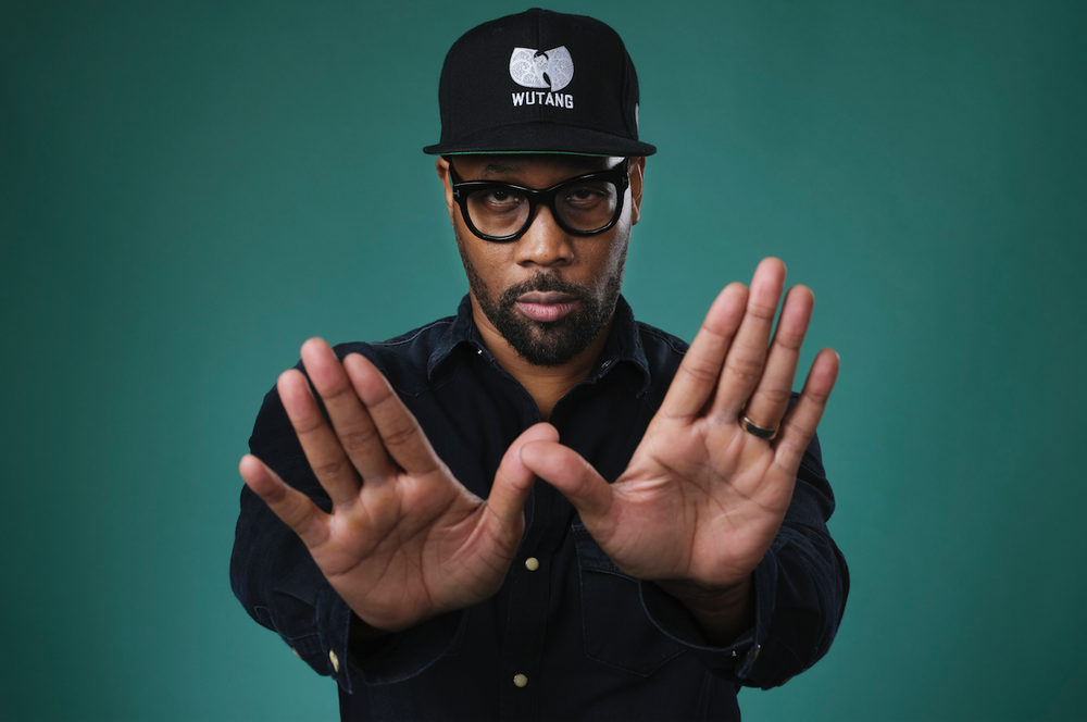 "Wu-Tang Clan member RZA is an executive producer of the Hulu miniseries ""Wu-Tang: An American Saga."" (AP/Chris Pizzello)"