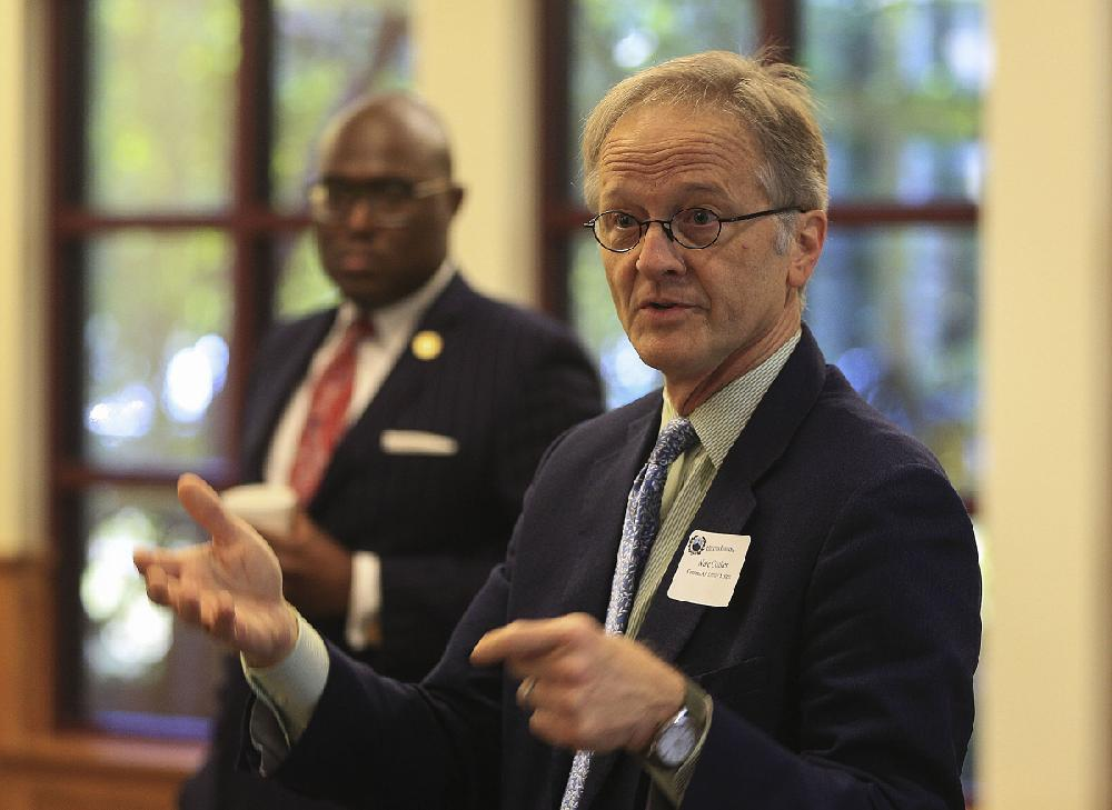 Mayor seeks leaders' aid to boost education in Little Rock