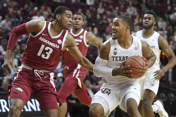 Hogs to start, end SEC run vs. Aggies