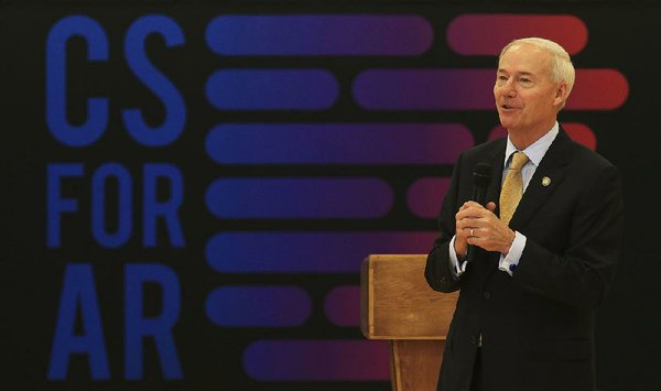 Governor's computer-science push on a roll in Arkansas