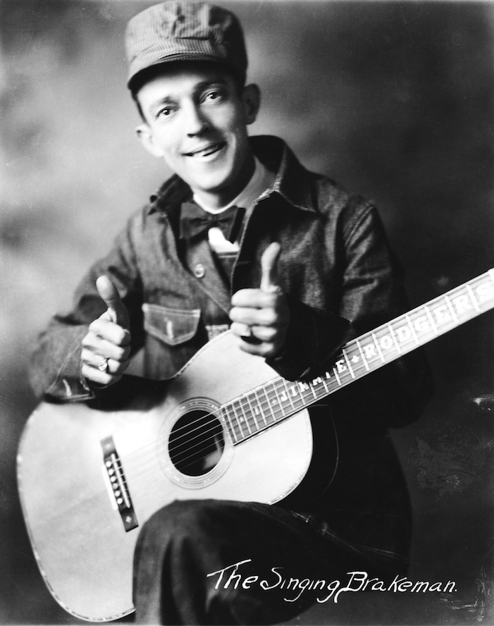 "Jimmie Rodgers was also known as ""The Singing Brakeman."" (API)"