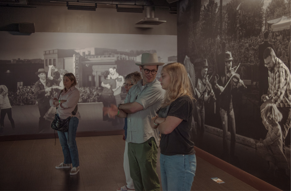 The Birthplace of Country Music Museum in Bristol, Va., immerses visitors into the Bristol recording sessions. (The New York Times/MIKE BELLEME)