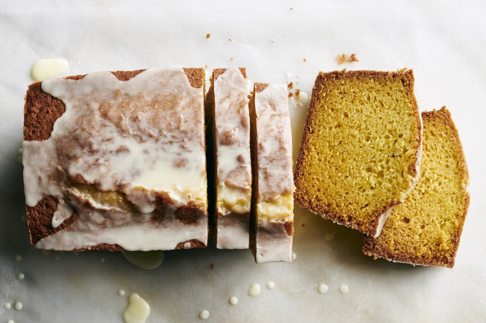 Spiced Olive Oil Cake With Orange Glaze Photo by David Malosh (The New York Times)