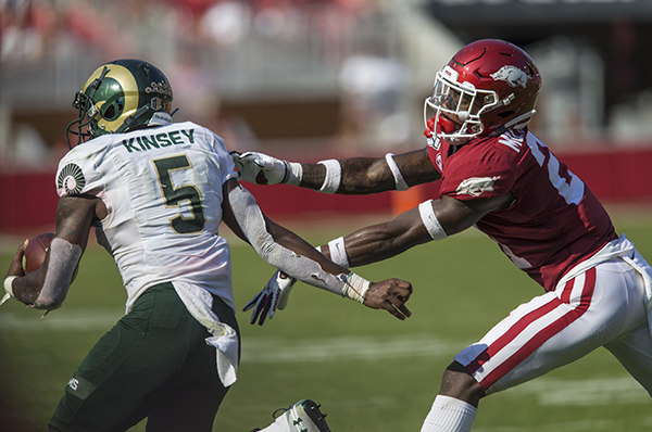 No fun with the run: Hogs' defense searching for answers