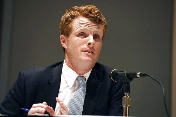 Rep. Joe Kennedy formally announces U.S. Senate campaign