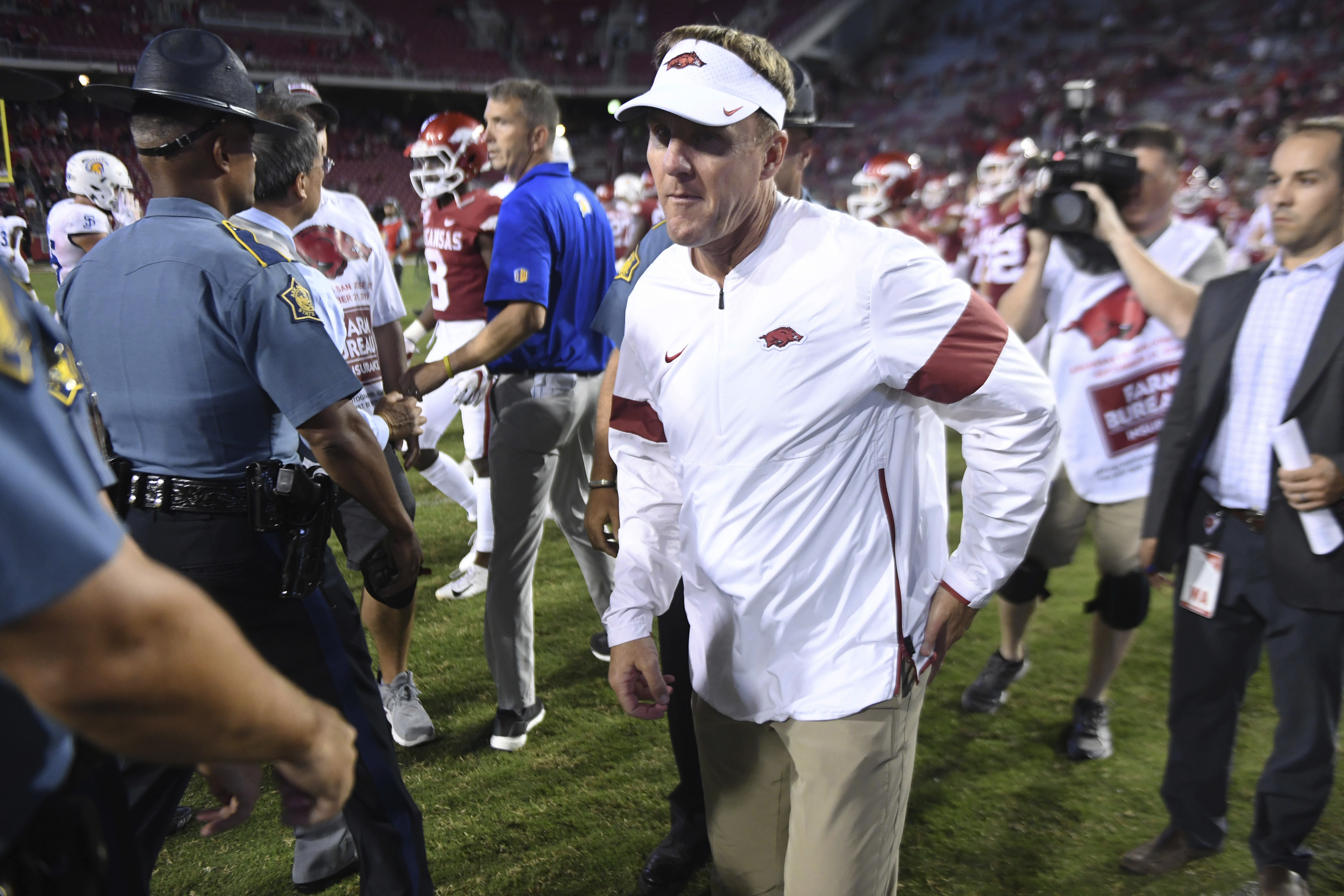 VIDEO: Chad Morris, players recap 31-24 loss to San Jose State
