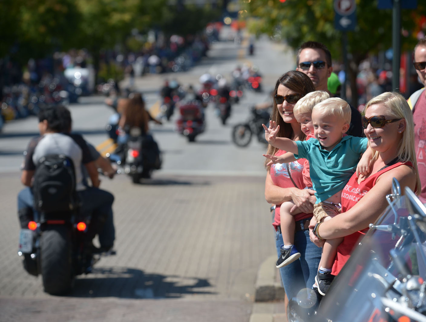 Organizers try to keep Bikes, Blues & BBQ friendly for the family