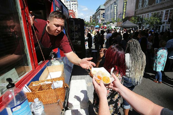 PHOTOS: Main Street Food Truck festival in downtown Little Rock