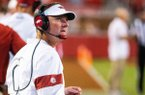 San Jose State vs Arkansas Razorbacks – Head coach Chad Morris against San Jose State at Donald W. Reynolds Razorback Stadium, University of Arkansas, Fayetteville, AR, on Saturday, September 21, 2019.