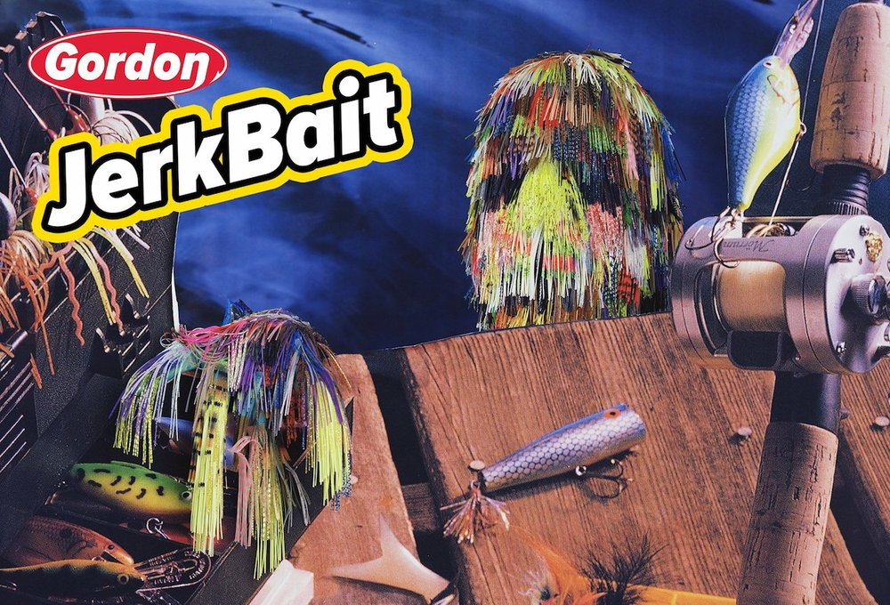 Jerkbait by Robert P Gordon is part of an exhibition opening this week at at Fenix Fayetteville.