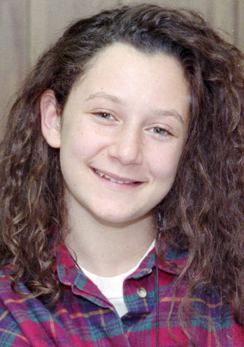 "Sara Gilbert as Darlene on ""Rosanne"" from 1990. (AP)"