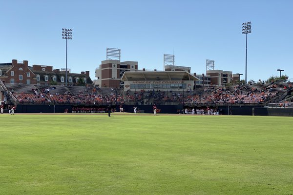 Arkansas played Saturday October 12th in Stillwater, Oklahoma in the final fall scrimmage of 2019.