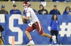 Arkansas quarterback Ben Hicks is shown during a game against Kentucky on Saturday, Oct. 12, 2019, in Lexington, Ky.