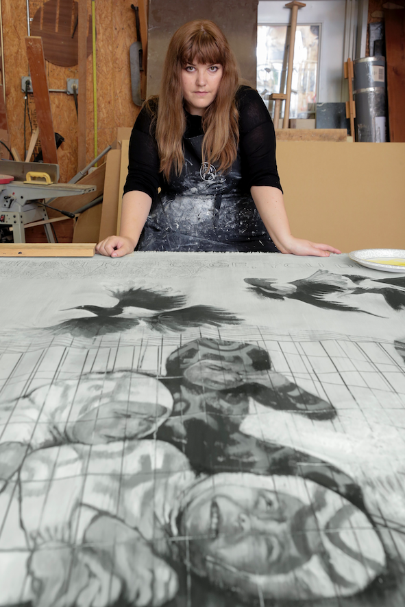 Into the wild: Anais Dasse explores her Basque roots and America through her art
